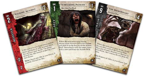 Lockwood's Asylum Cards